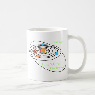 Planets poor pluto coffee mug