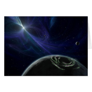 Planets with Star Pulsor on Notecard