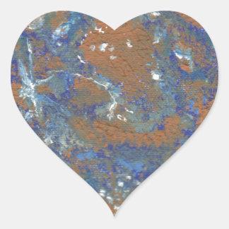 Planey Mercury Heart Sticker