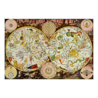 Planisphæri Cœleste: Astrology - Poster