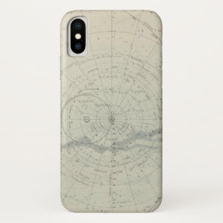 Planisphere Celeste Hemisphere iPhone X Case