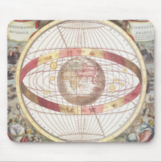 Planisphere, from 'Atlas Coelestis' Mouse Pad