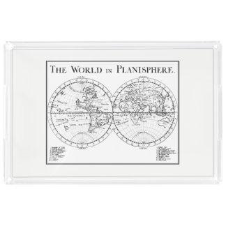 Planisphere Serving Tray