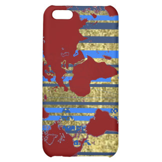 Planisphere-World Map Case For iPhone 5C