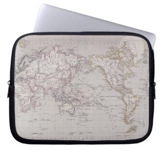 Planispheric Map of the World Computer Sleeve