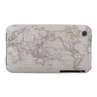 Planispheric Map of the World iPhone 3 Covers
