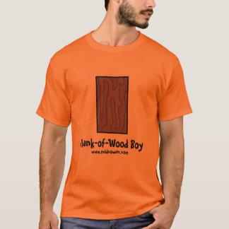 Plank-of-Wood Boy Logo T-Shirt