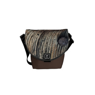 Plank of Wood Mini Messenger Bag