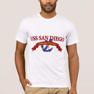 Plank Owner USS San Diego T-Shirt