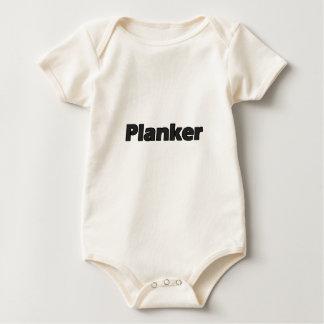 Planker Baby Bodysuit