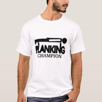 Planking Champion Black Silhouette T-shirt