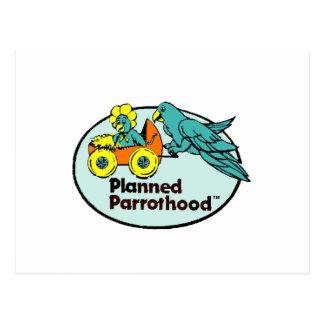 Planned Parrothood® Postcard