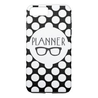 Planner Nerd polka dot iPhone 7 plus case