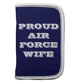 Planner Proud Air Force Wife