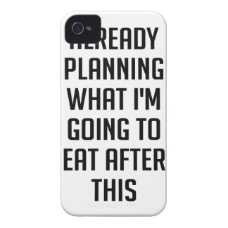 Planning What To Eat Case-Mate iPhone 4 Cases