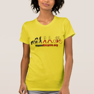 Plano Bicycle Association Evolution Artwork gifts T-Shirt