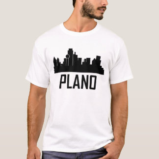Plano Texas City Skyline T-Shirt