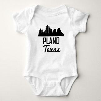 Plano Texas Skyline Baby Bodysuit