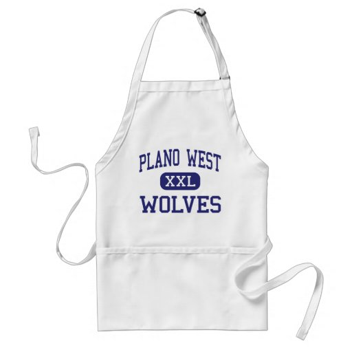 Plano West - Wolves - High School - Plano Texas Aprons