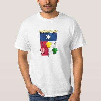 PlanoBicycle.Org Texas flag Cycling Gear T-Shirt