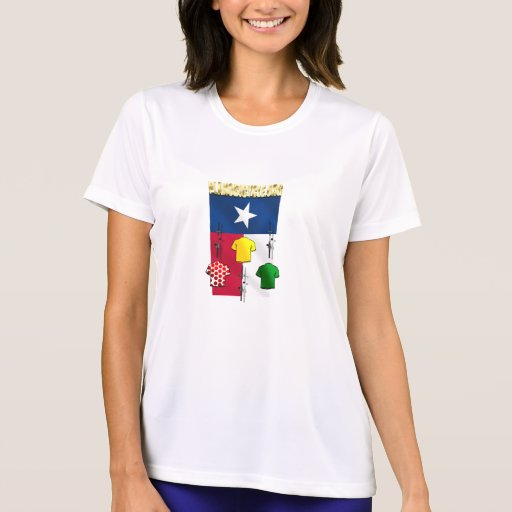 PlanoBicycle.Org Texas flag Cycling Gear T Shirts