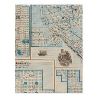 Plans of Fort Dodge, Humboldt Postcard