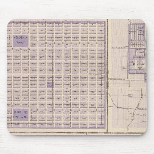 Plans of Osage, West Union Mouse Pads