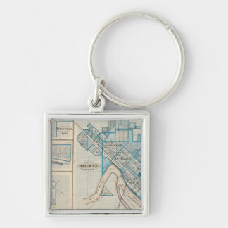 Plans of Ottumwa, Russell, Scranton Key Ring