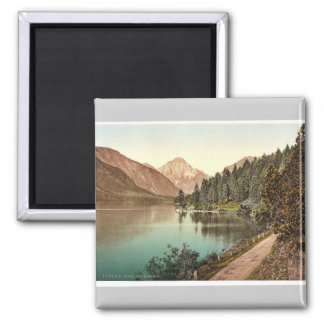 Plansee, general view, Tyrol, Austro-Hungary rare Square Magnet