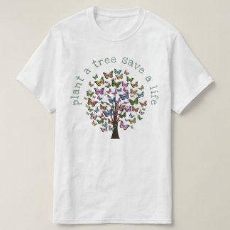 Plant a Tree Butterflies T-Shirt