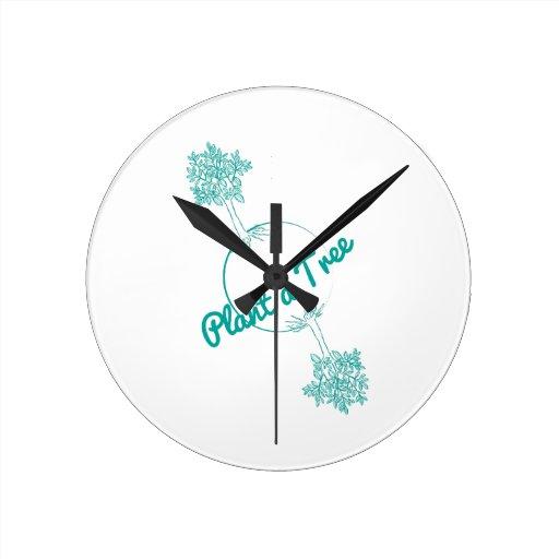 Plant a Tree Clock