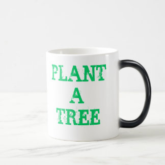 Plant a tree magic mug