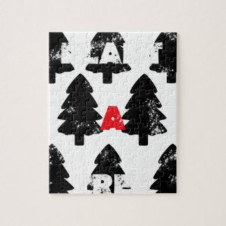 Plant A tree Pattern Jigsaw Puzzle