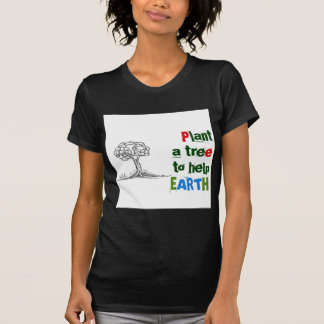 Plant a tree to help EARTH Tees