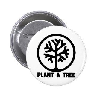 Plant a Tree TShirt Pins