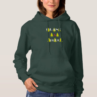 Plant A Tree Yellow Fir Trees Hoodie