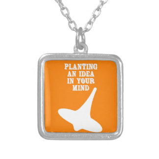 Plant An Idea In Your Mind Personalized Necklace