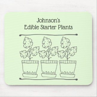 Plant and Tree Nursery Business Mouse Pad