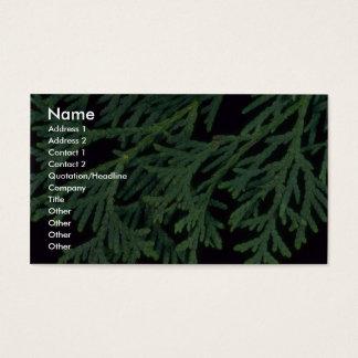 Plant Cedar Business Card