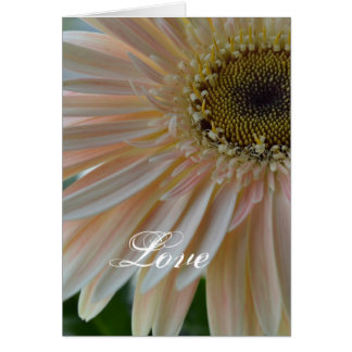 Plant for the Cure Flower-Pink Petals Greeting Card