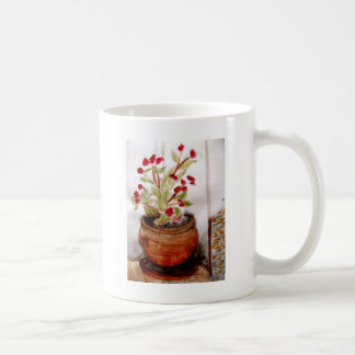 Plant In Terracotta Pot Coffee Mug