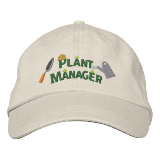 Plant Manager 2 Baseball Cap
