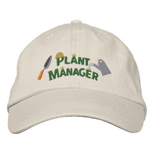 Plant Manager 2 Baseball Cap