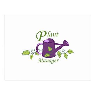 PLANT MANAGER POSTCARD