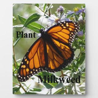 Plant Milkweed Plaque