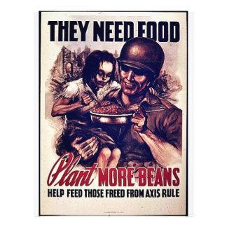 Plant More Beans Flyers