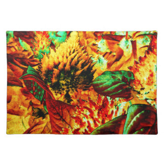plant on fire placemats