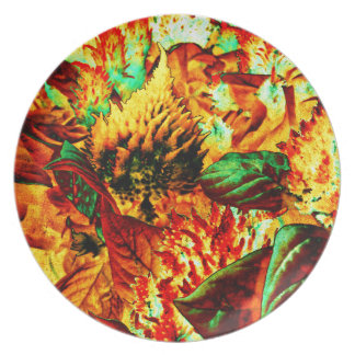 plant on fire plate