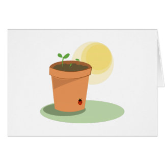 Plant Pot Greeting Cards