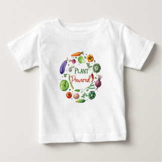 Plant-Powered Designs Baby T-Shirt